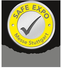 Safe Expo Messe Stuttgart - Sicher für Menschen. Gut für die Wirtschaft.