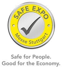Safe Expo Messe Stuttgart - Safe for People. Good for the economy.
