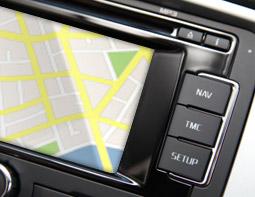 Eingabe Navigationssystem